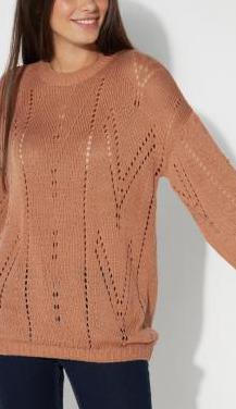 Jersey calado de manga larga de tezenis
