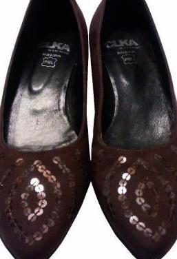 Zapatos mujer tacon bajo clka nº 36