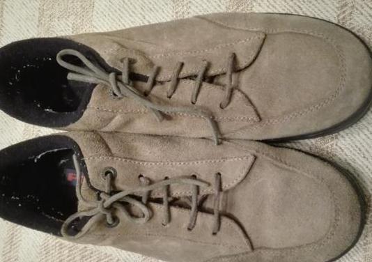 Zapatos piel ante caballero. t. 43