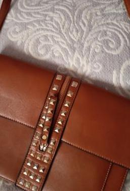 Bolso marrón polipiel