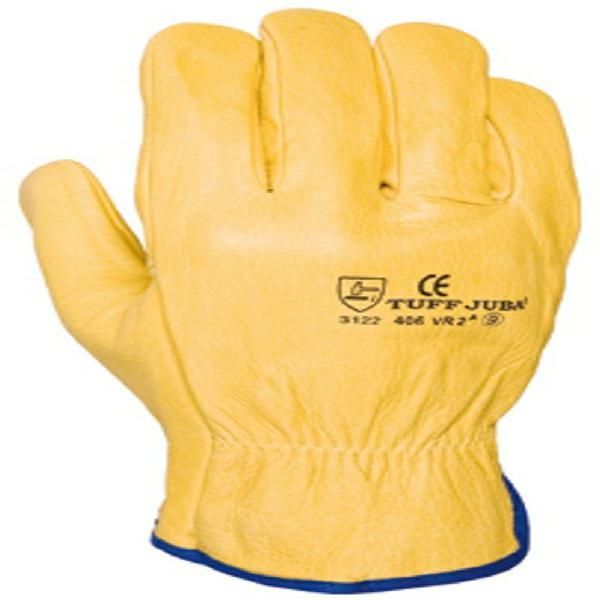 2 pares de guantes de piel