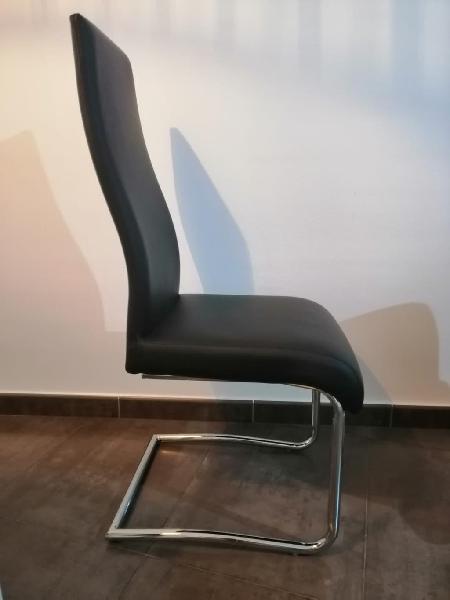 6 sillas de polipiel