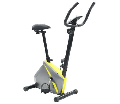 Bicicleta estática magnética con pulsómetro