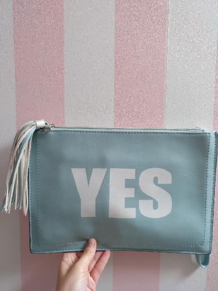 Bolso cartera clutch yes/no