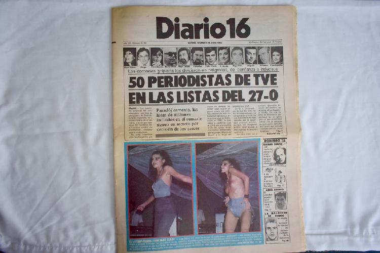 Diario 16 - 50 periodistas tve listas 27-o