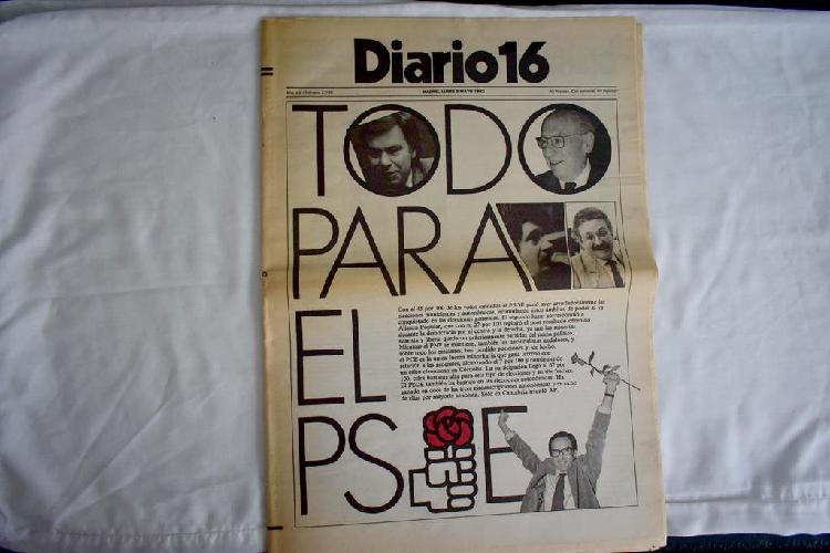 Diario 16 - psoe gana elecciones 1983