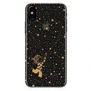 Funda para móvil iphone x la volátil vocar040 estrellas