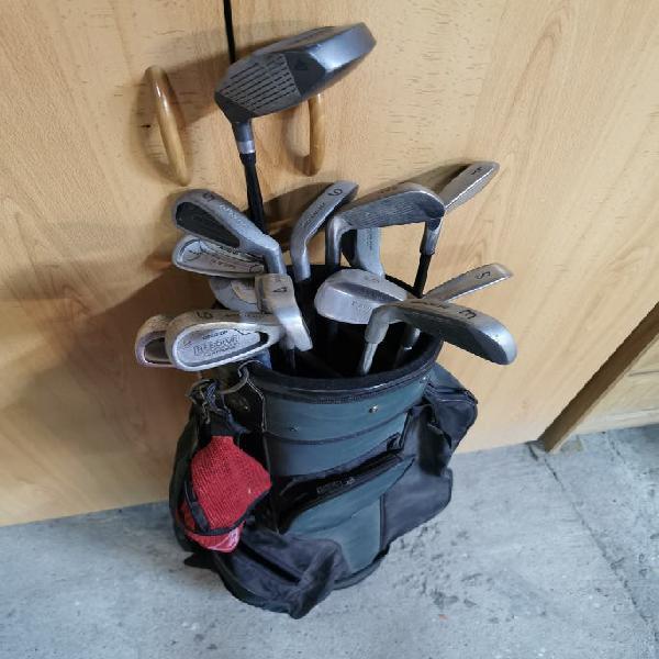Golf. palos de golf usados dunlop.