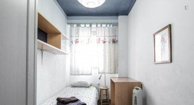 Habitacion centrica, single c/aire acondicionaado