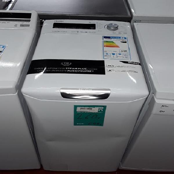 Lavadora de carga superior 8 kg haier rtxssg684tmh