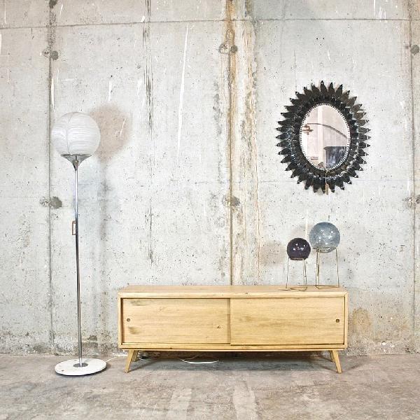Mueble bufet tv madera maciza a medida