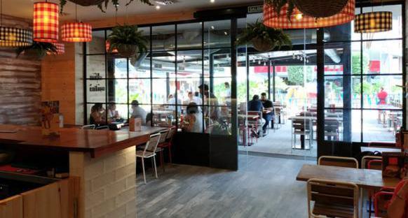 Marca: traspaso restaurante en centro comercial