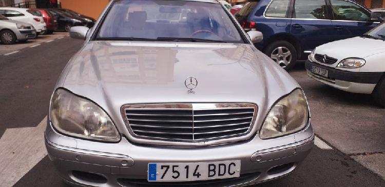 Mercedes-benz clase s400 diesel 2002