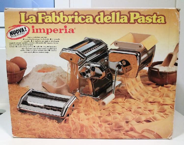 Máquina de pasta imperia