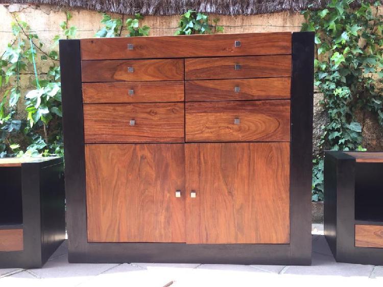 Muebles de madera para dormitorio