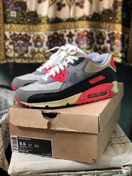 Nike air max 90 infrared og 43
