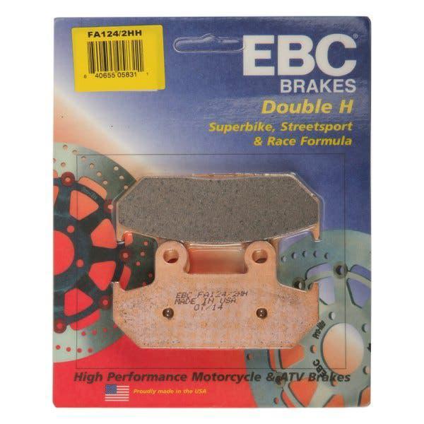 Pastillas de Freno compatibles con Honda CBX 650 750 1000 CMX 450 CX 500 650 EBC FA069HH
