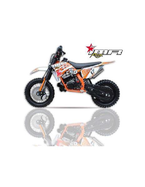 Pit bike imr mx50 9cv naranja