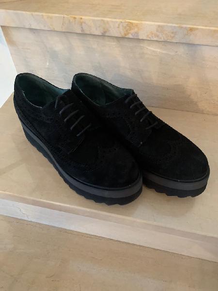 Zapatos piel de ante