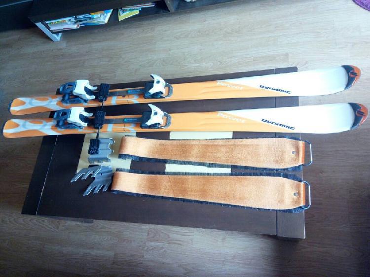 Conjunto esquí de travesia 1.50m