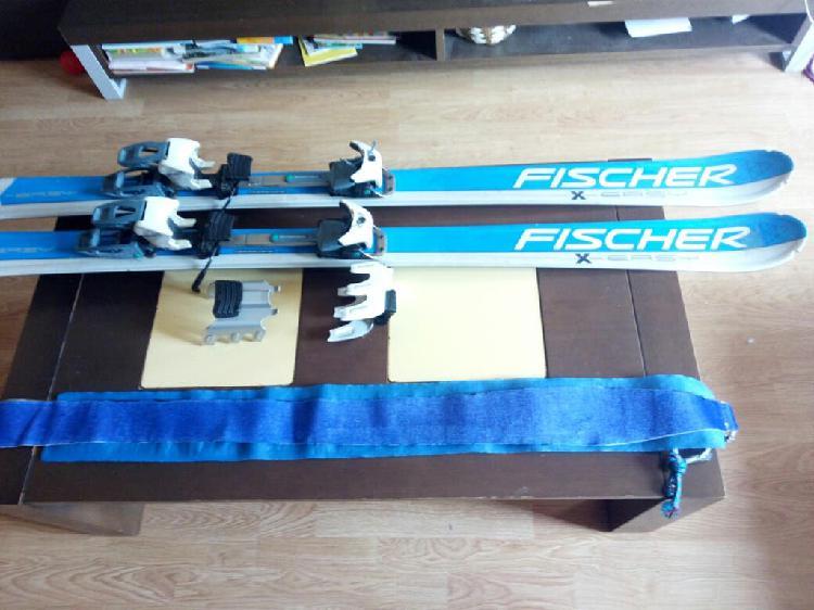 Conjunto esqui de travesia 1.55m