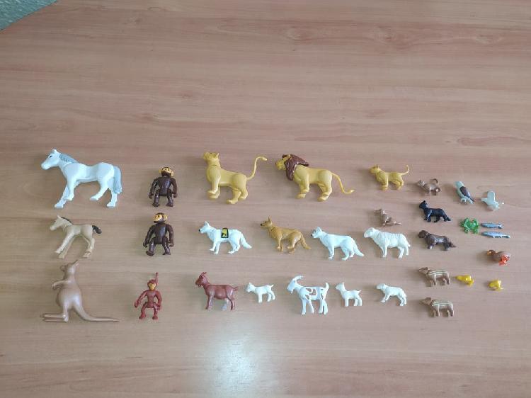 Lote animales playmobil
