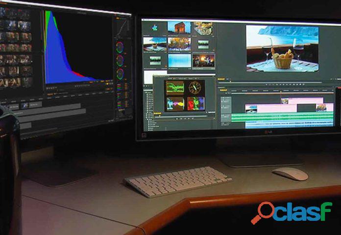 Productora de edición de vídeo online