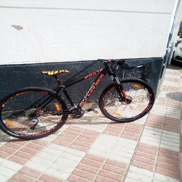 Vendo bicicleta seminueva mondraker phase sport