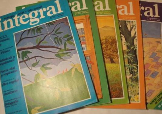 5 revistas integral. años 1983 y 1984