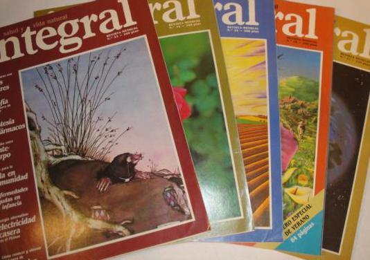 5 revistas integral nº 33 al 37año1982