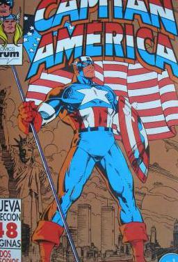9 comics capitan america y thor vol 2 de forum