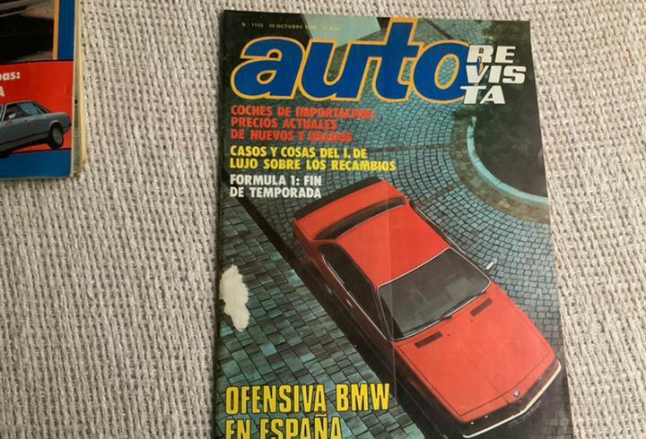 Auto revista nº 1158 - 20 octubre 1979 - precios coches