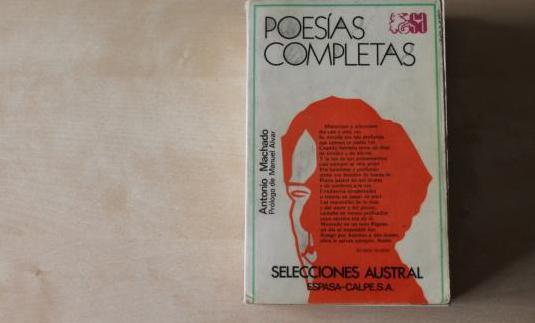 Antonio machado. poesías completas