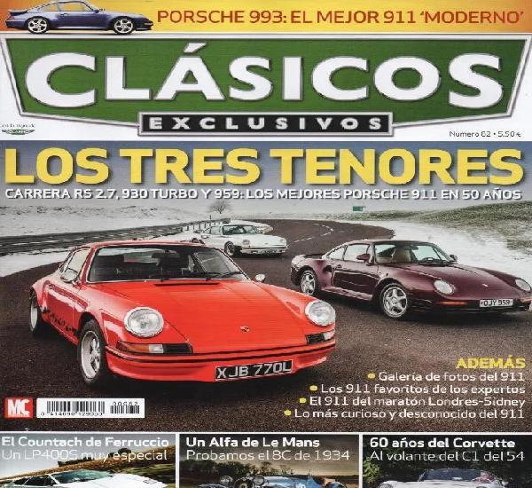 Clasicos exclusivos n. 82 - en portada: los mejores porsche