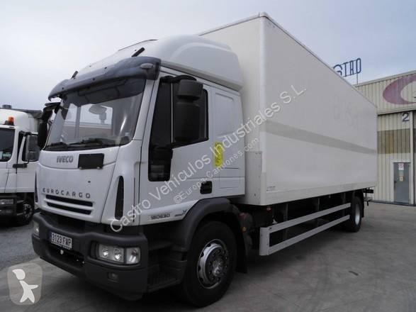 Camión iveco furgón eurocargo ml 180 e 30 4x2 diesel euro
