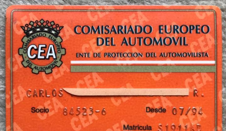 Carnet comisariado europeo del automóvil - ente de