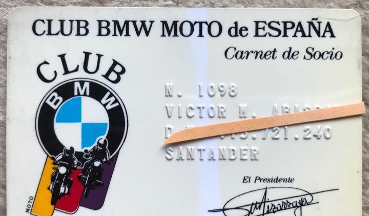 Carnet club bmw moto de españa
