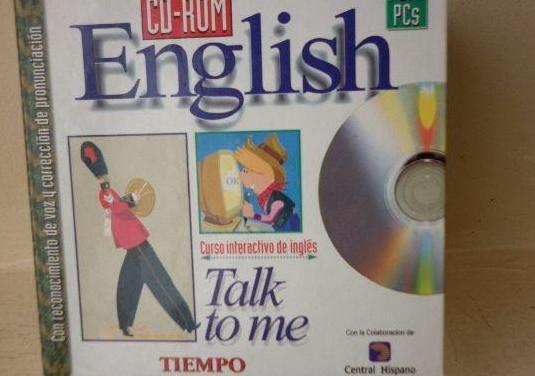 Curso inglés cd-rom talk to me english completo