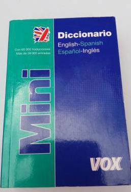 Diccionario mini inglés español