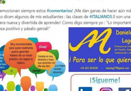 Italiano, comunicación, life coach