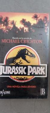 Jurassic park, una novela para jovenes.