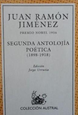 Juan ramón jiménez 2ª antología poética