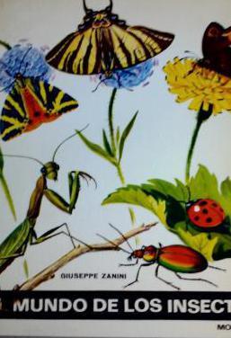 Libro el mundo de los insectos de giuseppe zanini