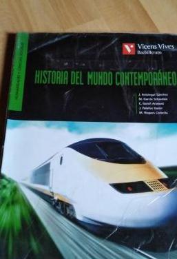 Libro : historia del mundo contemporáneo