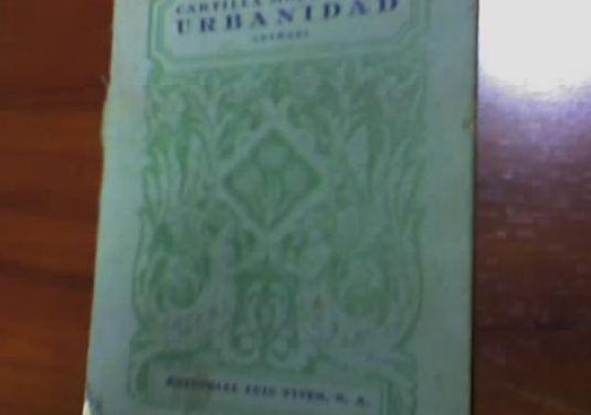 Libro escolar años 40