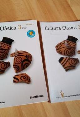 Libros: cultura clásica 3 eso