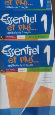 Libros francés 1º eso santillana
