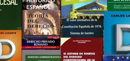Libros grado derecho uned - varios cursos-