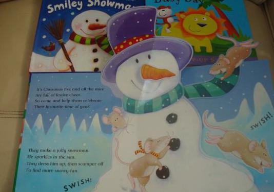Libros infantiles nuevos con dibujos en relieve