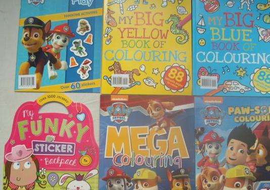 Libros nuevos de actividades y colorear